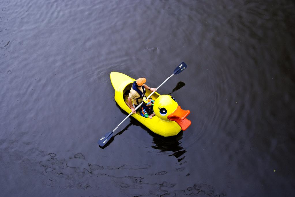 Duck Kayak | Katy Silberger | Flickr