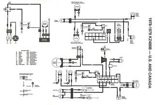 1978 Kz400 Rewire Full Wiring Diagram For Complete Rewire