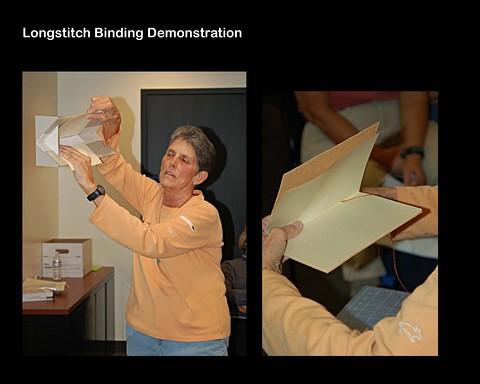 Book Arts Jam 2007 - Longstitch Binding - slide 10