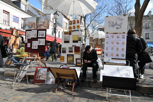 Painters at Montmartre | by Serge Melki