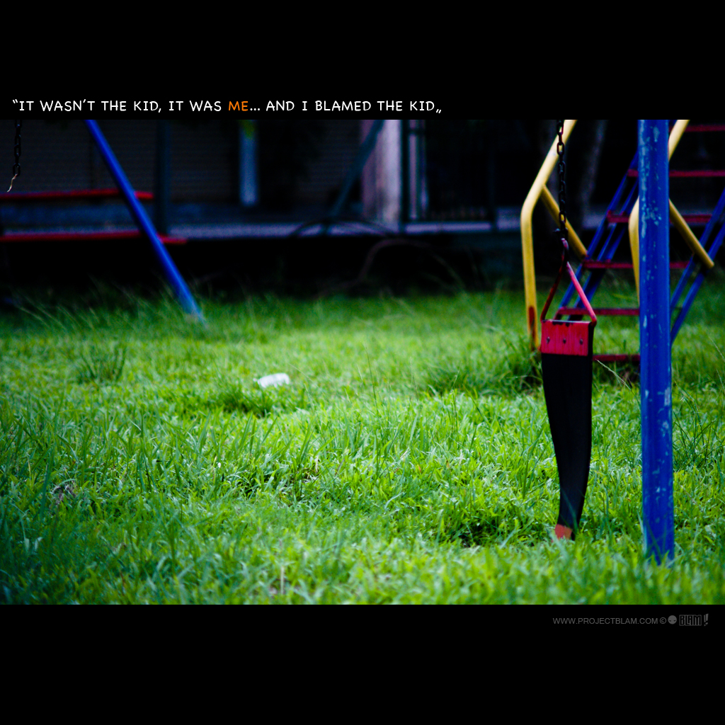 #34/365 Broken swing, deserted playground. by jimmy ang