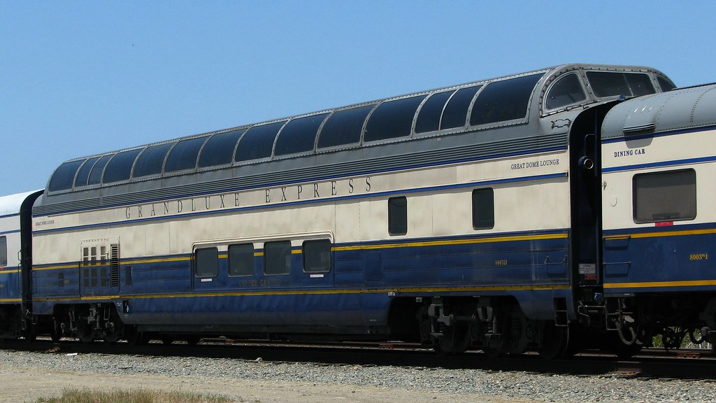 Grandluxe Rail Journeys Copper Canyon Great Dome Lounge Ao