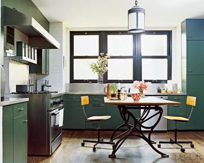 Nate Berkuss Vintage Kitchen Featured In Elle Decor Flickr