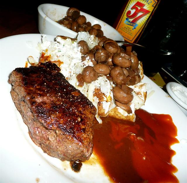 Outback steak, ohhh yeaaaaahhh...