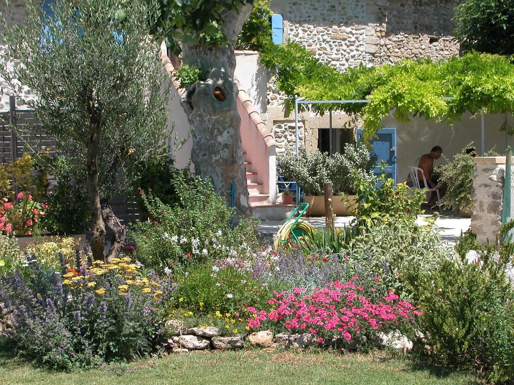 jardin design et contemporain
