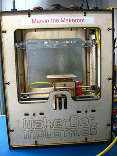 Marvin the Makerbot | by jmayer