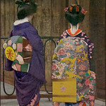 Maiko Misedashi with her Onesan