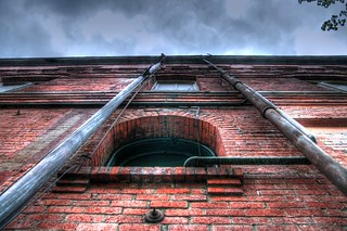 Brick Building HDR | by GoRun26