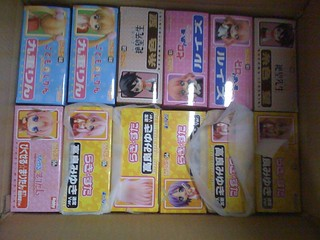 Shipment of Nendoroid figures