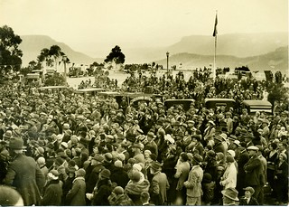 Giant Stairway Official Opening, 1st October 1932