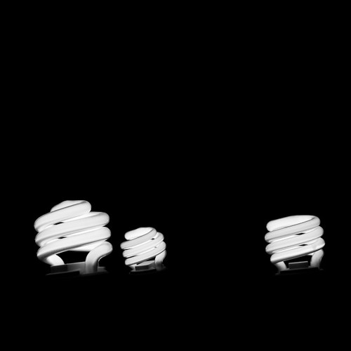 Three compact fluorescent light bulbs | by StormPetrel1
