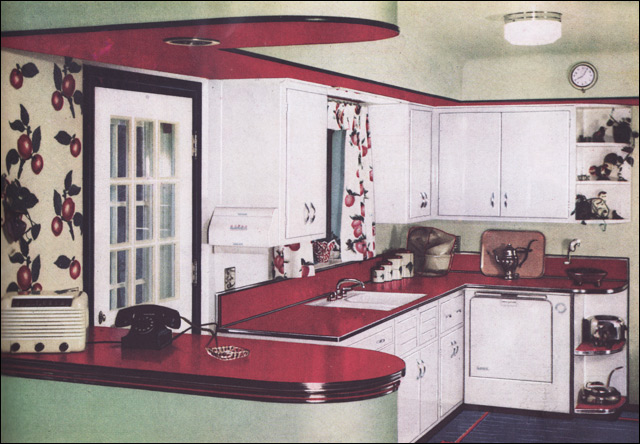 1950 Formica Kitchen Source House Garden Image From The Flickr