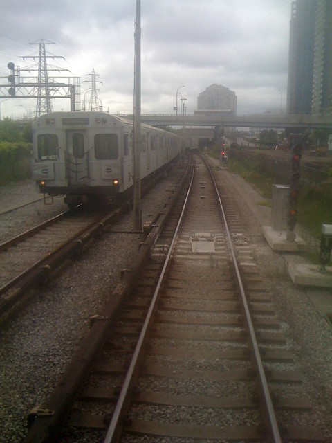 TTC Subway at Kipling