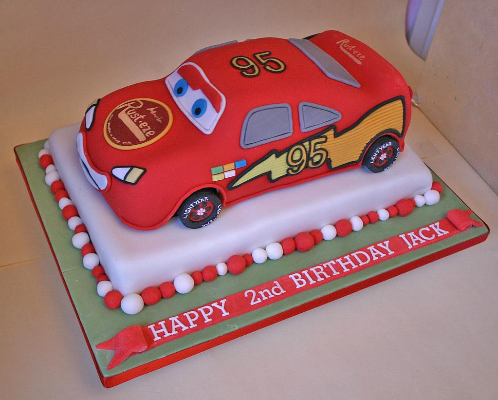 Birthday Cake (214) - Lightening McQueen