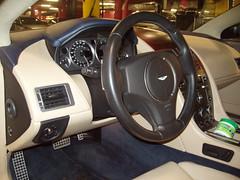 Limpieza Integral. Aspirado y Limpieza integral. Aston Martin DB9