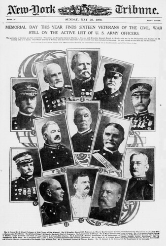 Memorial day this year finds sixteen veterans of the Civil War still on the active list of U.S. Army officers (LOC) | by The Library of Congress