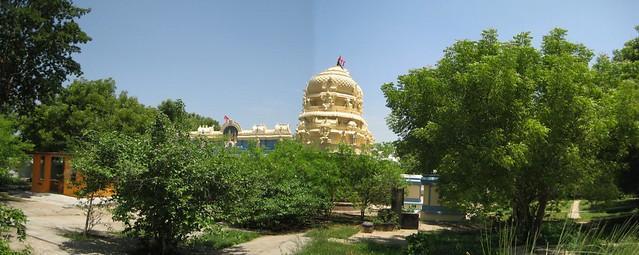 Vimanam in the backdrop of Nandavanam