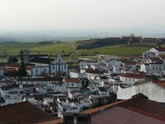 Vistas de Elvás (Alentejo, Portugal)