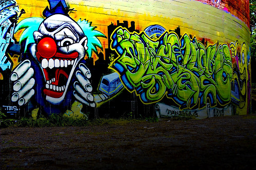 Evil clown | by Thor Arvid