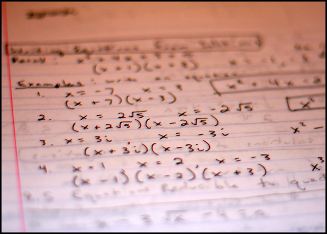 High School Math Notes | Algebra was never fun  People told