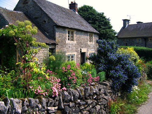 Cottage Garden in Tissington, Derbyshire by UGArdener