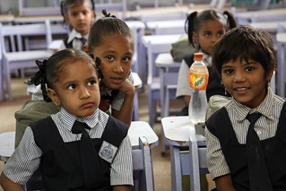 Little Girls in Classroom | by World Bank Photo Collection
