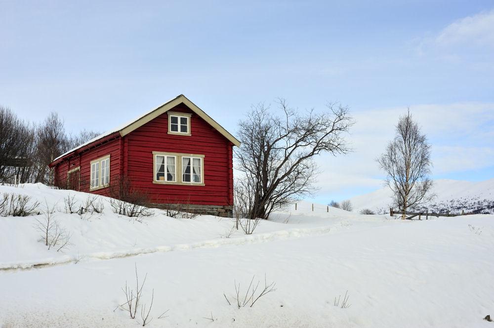 Norwegian hut