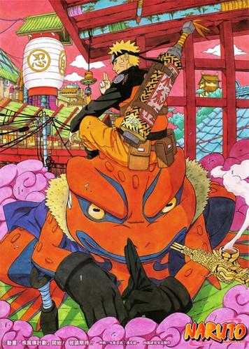 Naruto & Gamabunta | Visit my blog for more great Naruto ...