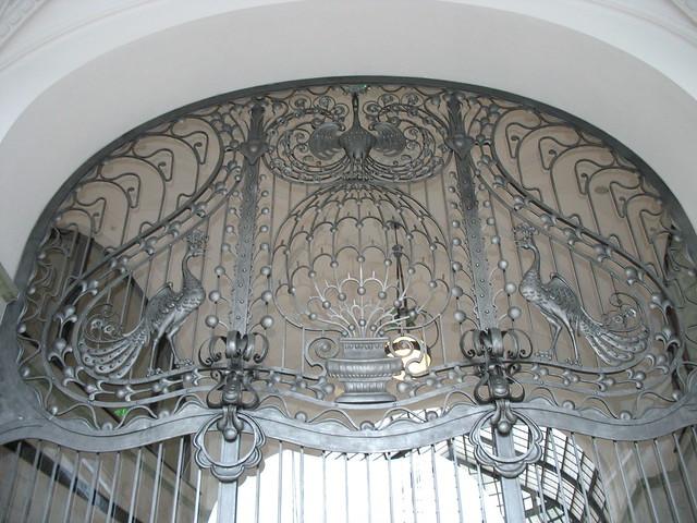 Detail, Gresham Palace Hotel