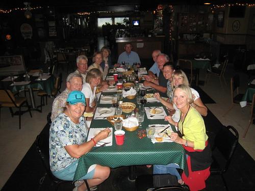 Dinner in Blair at the Marina