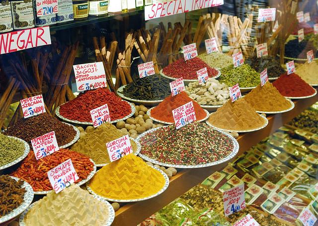 Spice Shop Window - Venice