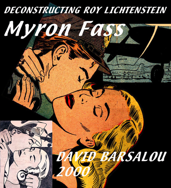 DRAWING FOR THE KISS  DECONSTRUCTING ROY LICHTENSTEIN © 2000 DAVID BARSALOU