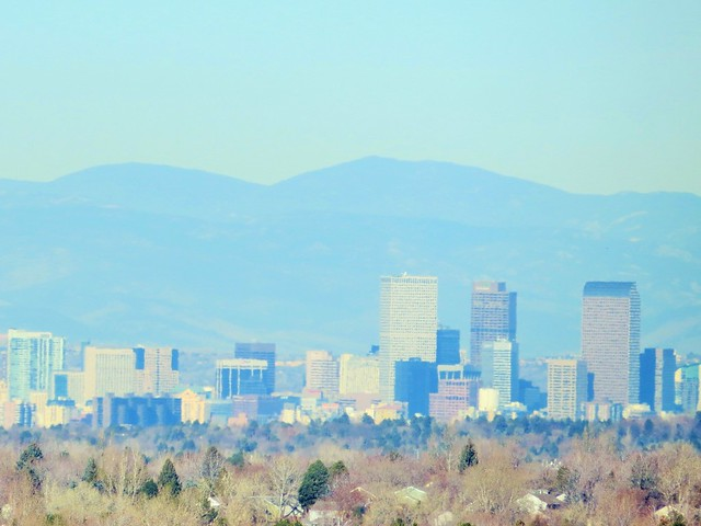 Denver from Louviers