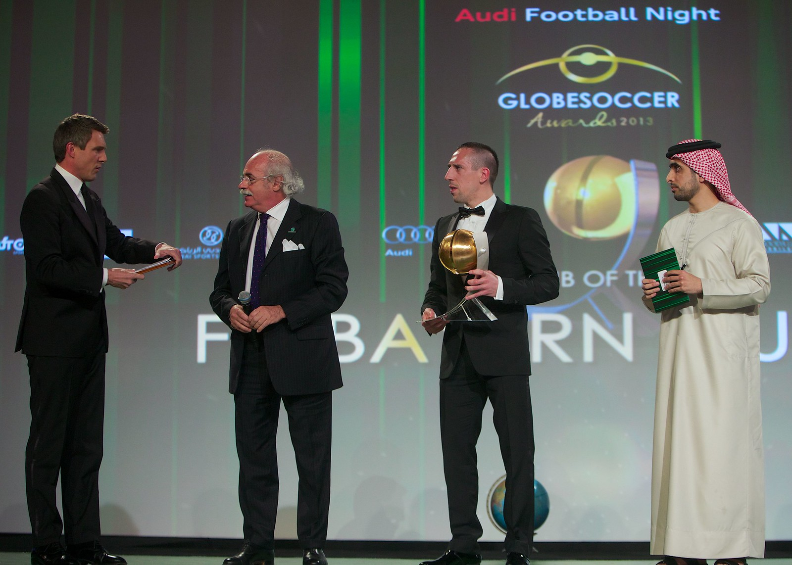 Globe Soccer Awards 222