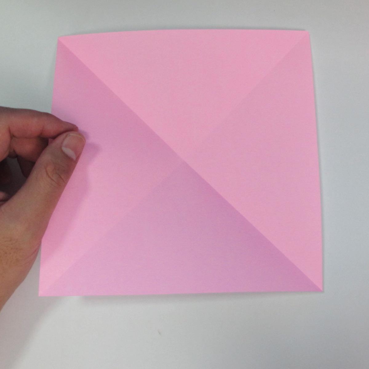 สอนการพับกระดาษเป็นลูกสุนัขชเนาเซอร์ (Origami Schnauzer Puppy) 002