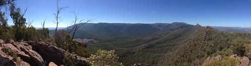 camping panorama cathedral hiking australia ranges