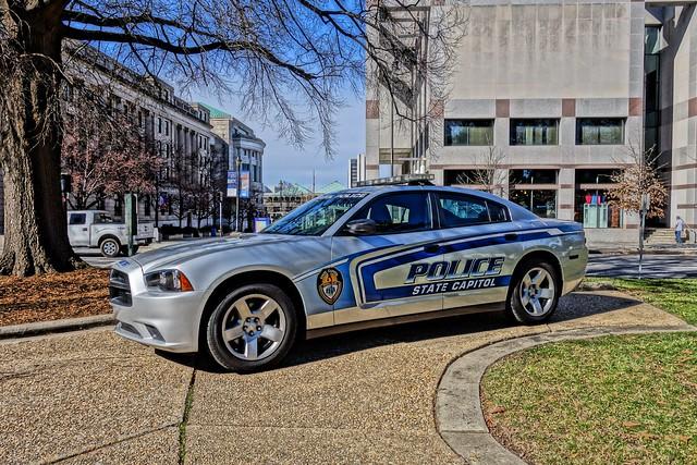 Capitol Police Car