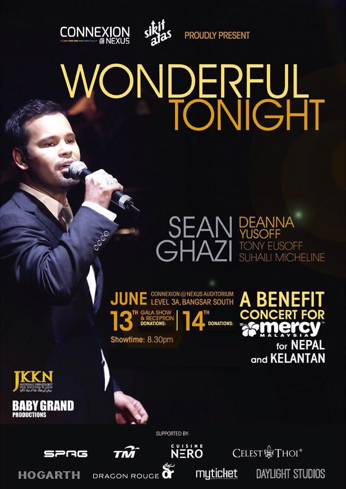 WONDERFUL TONIGHT' - Charity Concert