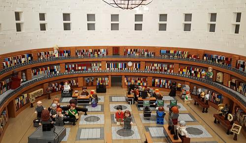 Stockholm Public Library 3: Interior