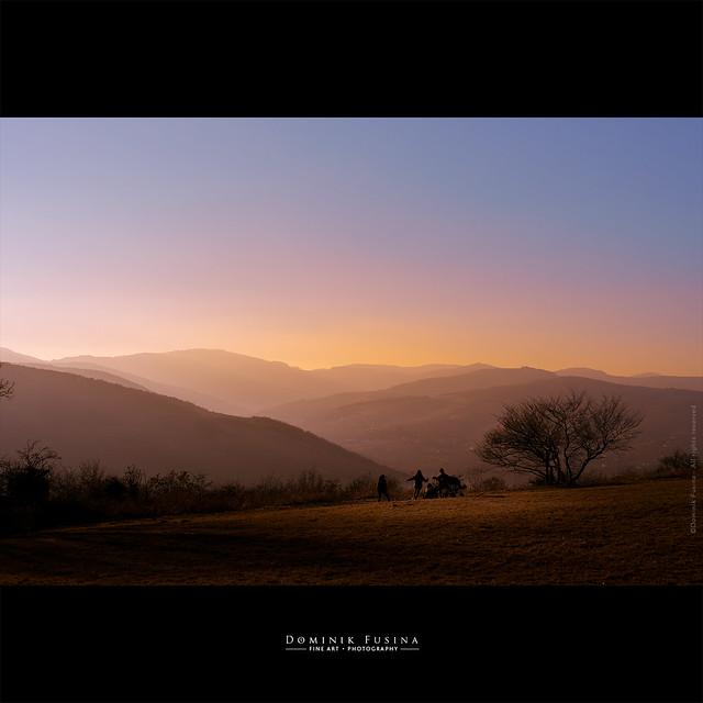 Sunset in Beaujolais