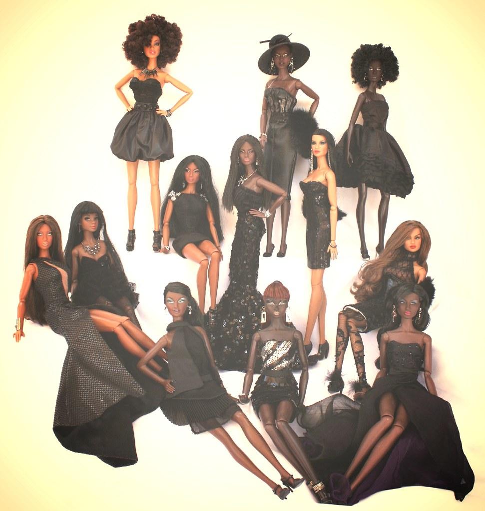 Black Beauties Photo Shoot Doll Fashionista 2013 Flickr