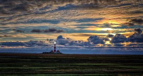 Westerhever Sand Lighthouse
