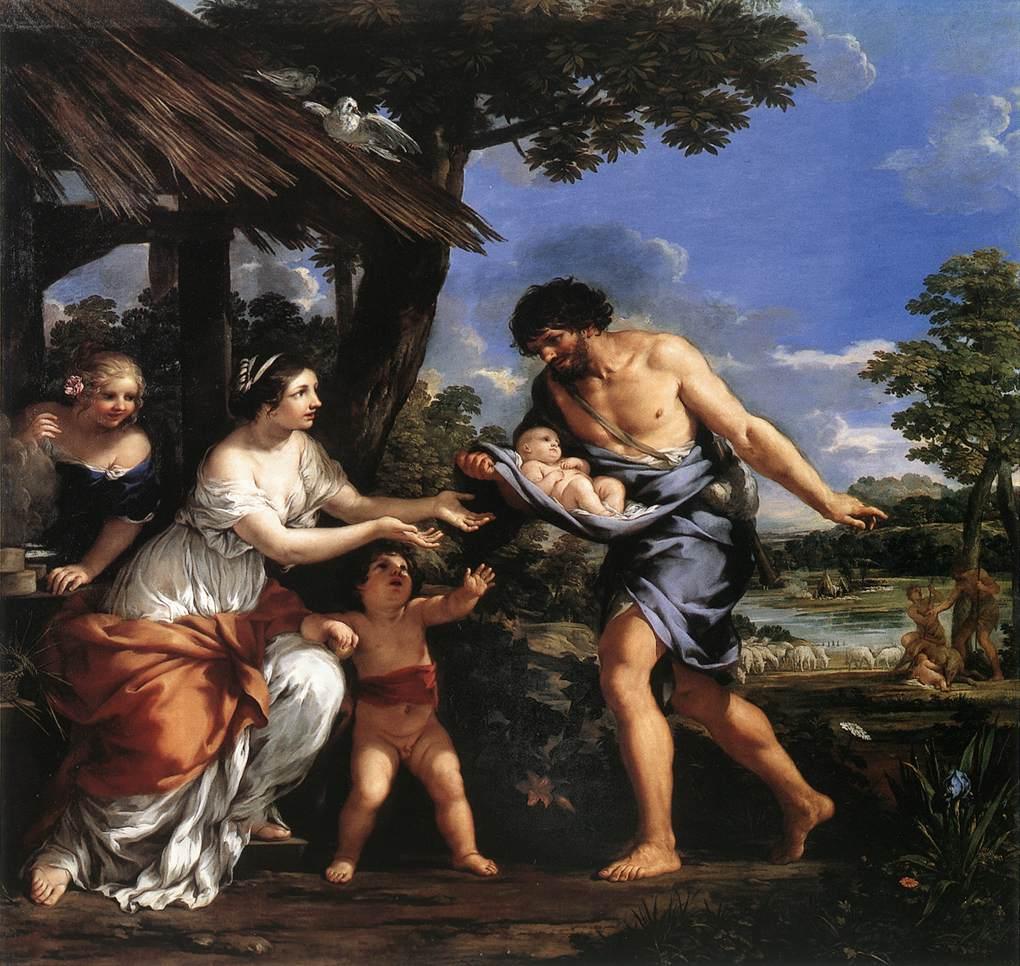 +1643 Faústulo, Larencia, Romulo y Remo