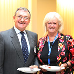 Janusz Lacny, IRU President and his wife