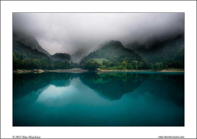 Misty Turquoise Fantasy