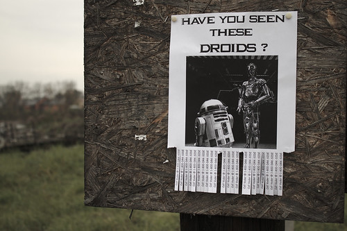 Flickr Friday #39: Have you seen these droids? (May the Force be with you) - Explored | by elPadawan