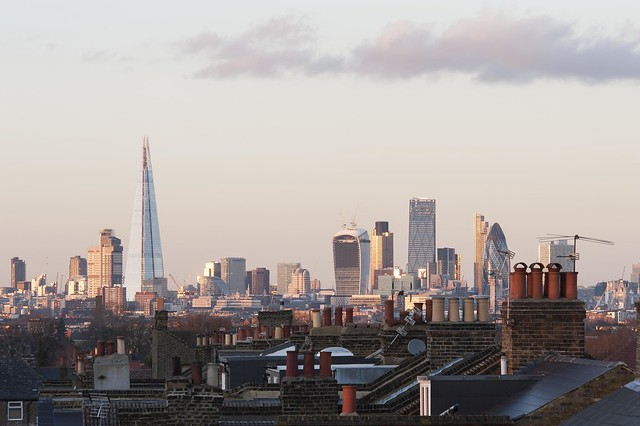 London skyline from Peckham