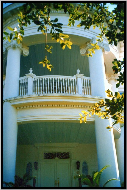 Charleston South Carolina ~ Colonial Lake Historic District ~ Old 35mm Film