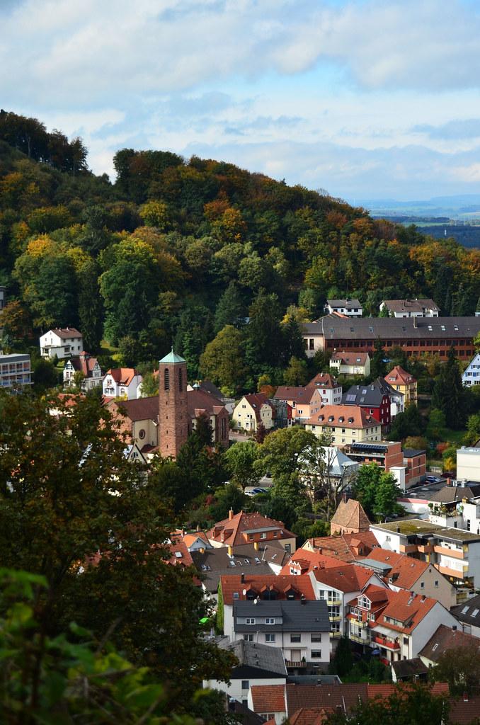View of Lanstuhl Germany