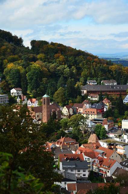 View of Lanstuhl Germany